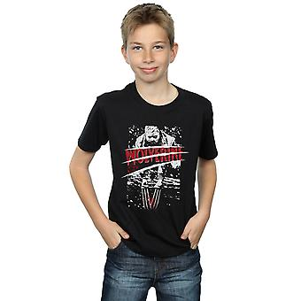 Marvel Boys X-Men Split Red Wolverine T-Shirt