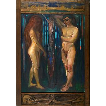 Metabolism,Edvard Munch,60x42cm