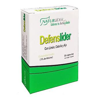 Naturlider Defenslider Std 30 Capsules - Limon Onion And Garlic