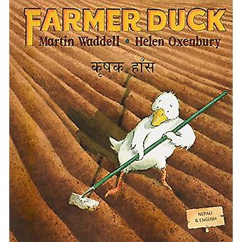 Farmer Duck in Nepali and English by Martin Waddell - Helen Oxenbury