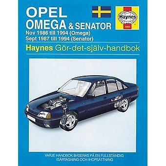 Opel Omega & Senator (86 - 94) - 9781859602621 Book