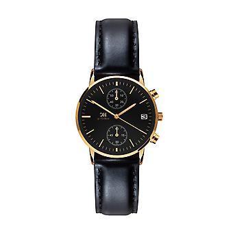 Carlheim   Armbandsur   Chronograph   Black dial   Tunø   Skandinavisk design