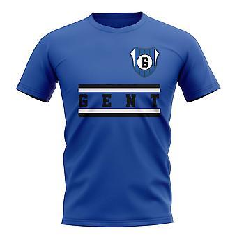 Gent Core Football Club T-Shirt (Royal)