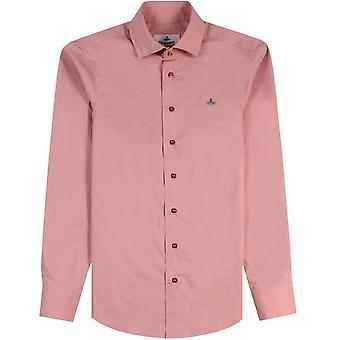Vivienne Westwood One Button Krall Shirt Pink