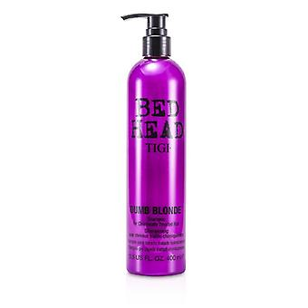 TIGI Bed Head Dumb Blonde Shampoo (für chemisch behandeltes Haar) 400ml / 13,5 oz