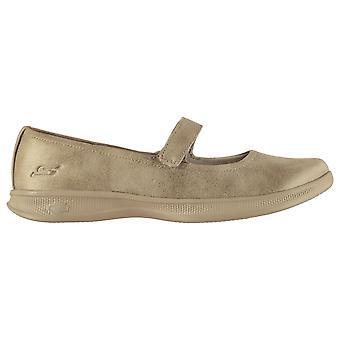 Skechers dame GoStep Lite damer sko Sports træning gym sneakers