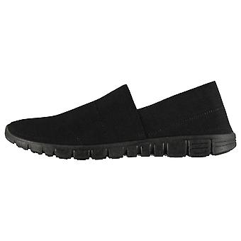 Fabric Mens Mercy Slip on Trainers Sneakers Shoes Pumps