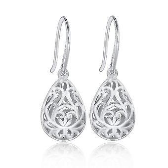 Tuscany Silver Women's Pendant Earrings in Silver Sterling 925
