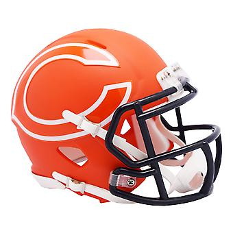 Riddell Speed Mini Football Helm - NFL AMP Chicago Bears