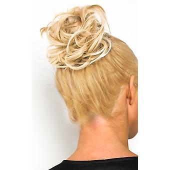 IKRUSH Womens Willow Scrunchie Haarverlängerungen - Curly Champagner