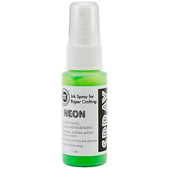 Hero Arts Neon Ink Spray Green Wm Spray 106