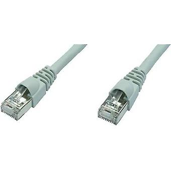 RJ49 Networks Cable CAT 6A S/FTP 50 m Grey Flame-retardant, incl. detent Telegärtner