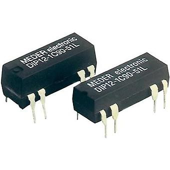 Reed relay 1 change-over 24 Vdc 0.5 A 10 W DIP 8
