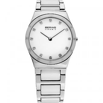 Bering ladies watch wristwatch slim ceramic - 32230 – 764