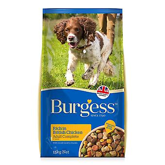 Burgess Adult Dog Chicken 15kg (Pack of 2)