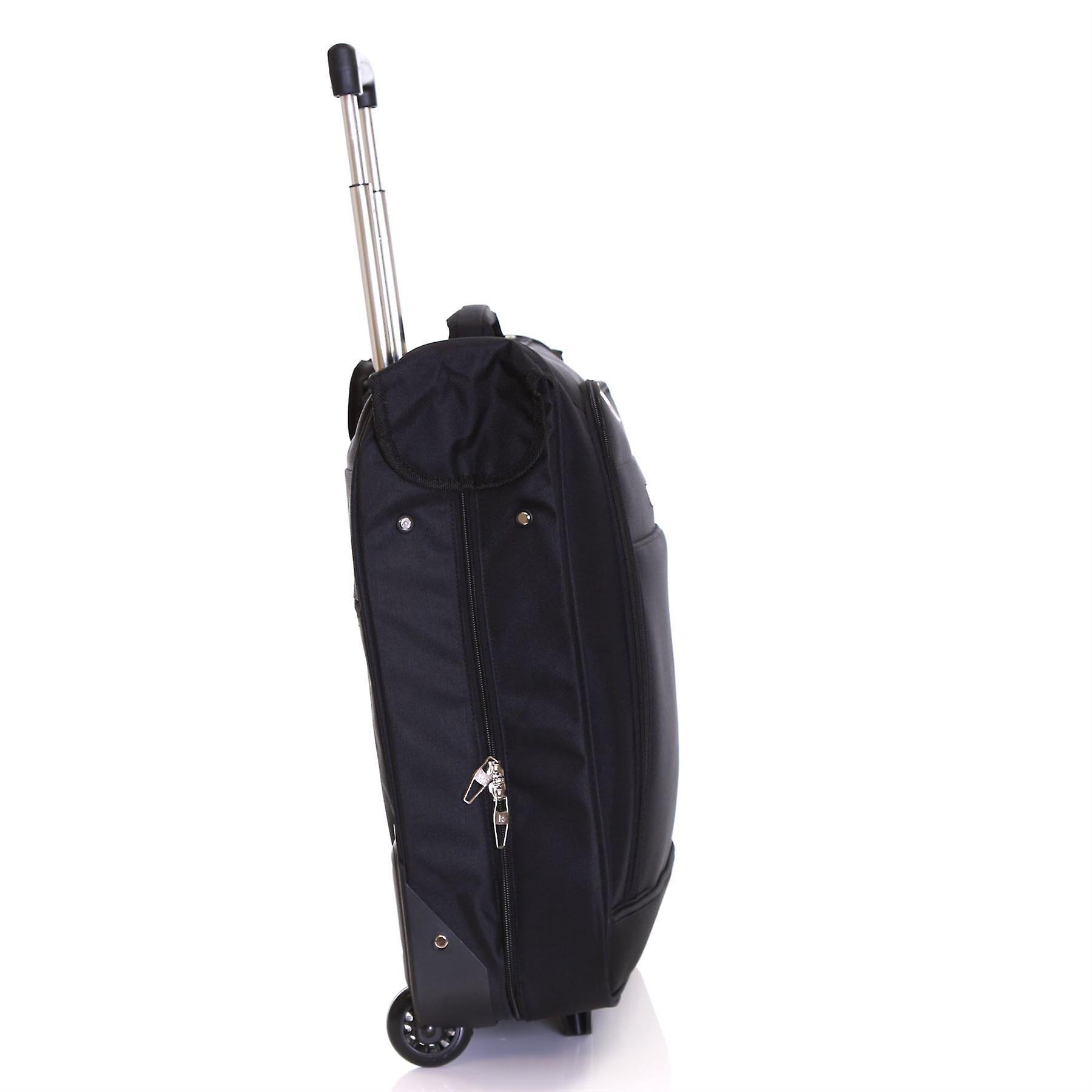 Karabar Stanley Wheeled Suit/Garment Carrier, Black