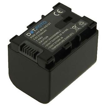 Dot.Foto JVC BN-VG121 Replacement Battery - 3.6v / 2100mAh