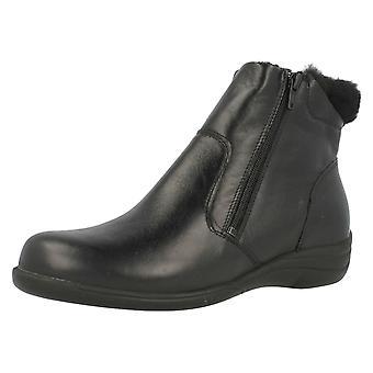 Ladies lett B variabel passende ankelen støvler Mia