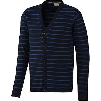 adidas Neo Men's Slim Fit Striped Lightweight Cardigan Jumper