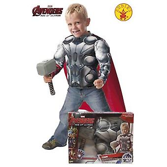 Rubie's Muscular Chest Child Costume Thor And Hammer In Box (Costumes)