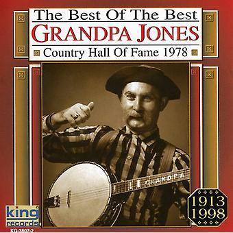 Abuelo Jones - importación de Estados Unidos de 1978 del salón de la fama de música Country [CD]