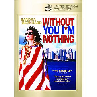 Without You I'm Nothing [DVD] USA import