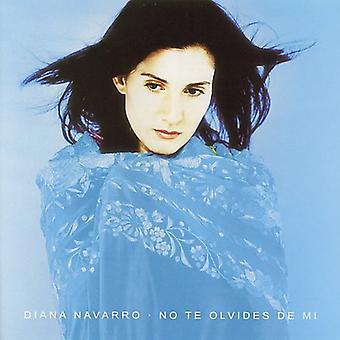 Diana Navarro - importación de Estados Unidos No Te Olvides De MI [CD]
