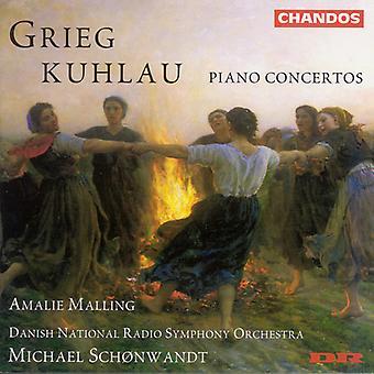 Kuklau/Greig - Kuhlau, Grieg: Piano Concertos [CD] USA import