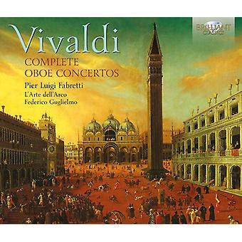 Vivaldi - Comp Oboe Ctos [CD] USA import