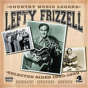 Zurdo Frizzell - lados del país de Music Legend-Selected 1950-1959 [CD] USA importar