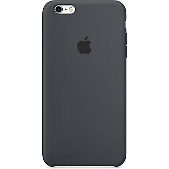 In its original packaging Apple silicone cover case, iPhone 6 + plus 6 s + anthracite grey
