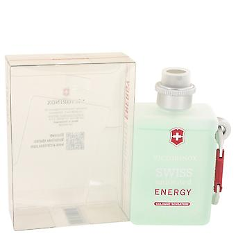 Victorinox Men Swiss Unlimited Energy Cologne Spray By Victorinox
