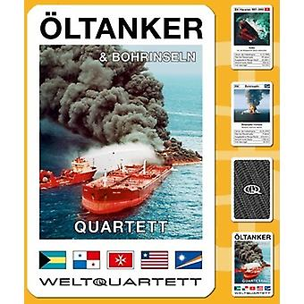 Oil tanker Quartet tanker disasters oil card game