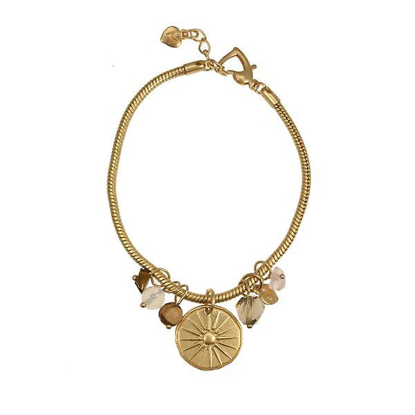 W.A.T Shine Gold Air Cluster Bracelet By Martine Wester