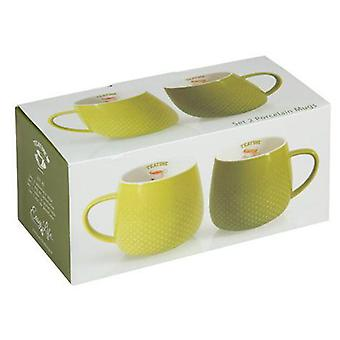 Wellindal Set 2 Tazas verdes tea time