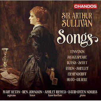 Sullivan / Bevan / Johnson / Riches / Norris - Sir Arthur Sullivan: importazione USA canzoni [CD]