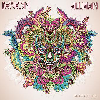 Devon Allman - Ride eller dø [CD] USA importerer