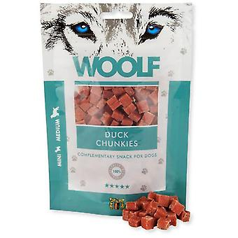 Woolf Duck Chunkies (Dogs , Treats , Eco Products)