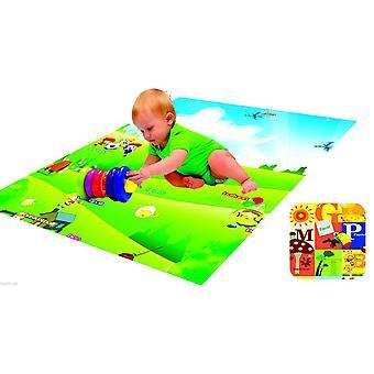 Игры Мат ковер Baby малыш детей Детские двойной Двусторонняя пены мягкий с делом различных размеров