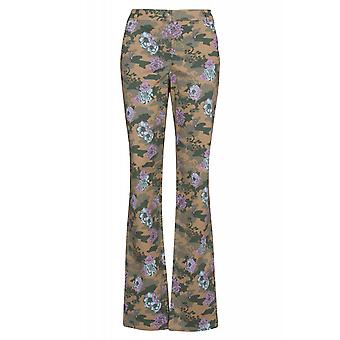 sheego pants women of stretch jeans plus size short size multicolor