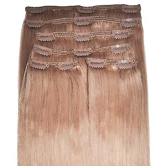 #14 Strawberry Blonde - Clip-in Hair Extensions - Full Head