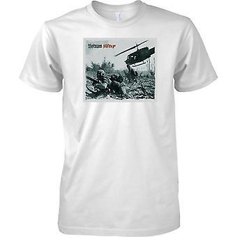 Vietnam War - Hot LZ US Army - Mens T Shirt