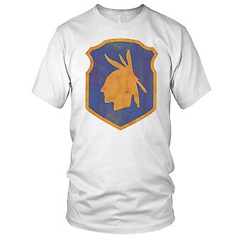 US Army 98th Infantry Division Insignia Grunge Effect Kids T Shirt