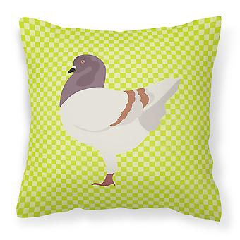 German Modena Pigeon Green Fabric Decorative Pillow