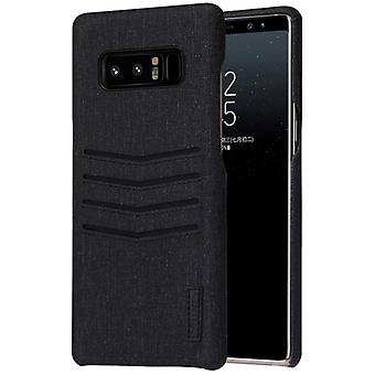 Noble business cover card flap for Samsung Galaxy touch 8 protective cover case black