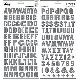 Boys Fort Chipboard Stickers 5.5