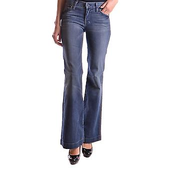 7 for all mankind ladies MCBI004001O Blau cotton of jeans