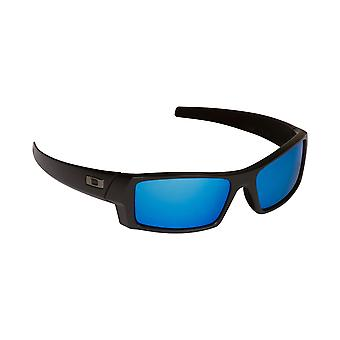 Gascan S Replacement Lenses Grey & Blue Mirror by SEEK fits OAKLEY Sunglasses