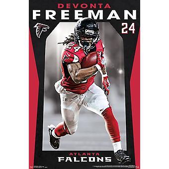 Atlanta Falcons - Freeman Devonta Poster Print