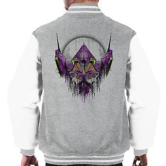 Neon Genesis Evangelion Test Type Men's Varsity Jacket